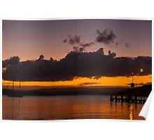 Lake Macquarie  Belmont  NSW Poster