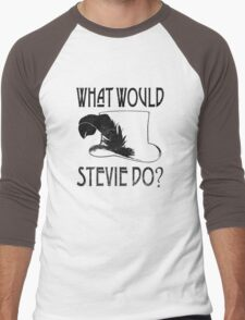 WHAT WOULD STEVIE NICKS DO - VINTAGE Men's Baseball ¾ T-Shirt
