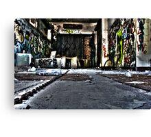 Graffiti Room Canvas Print
