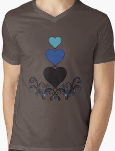 Trois de Coer Mens V-Neck T-Shirt