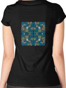 Spirals Quartet Women's Fitted Scoop T-Shirt