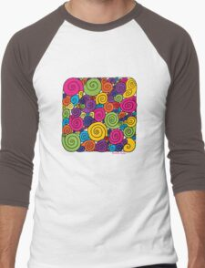 Bubblegum Men's Baseball ¾ T-Shirt