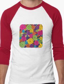Bubblegum Men's Baseball ¾ T-Shirt