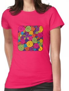 Bubblegum Womens Fitted T-Shirt