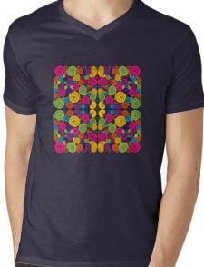 Bubblegum Quartet Mens V-Neck T-Shirt