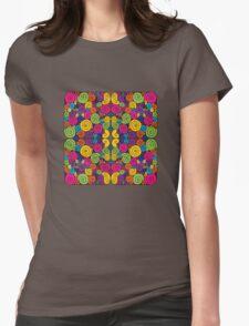 Bubblegum Quartet Womens Fitted T-Shirt