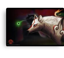 Issun and Ammy  Canvas Print