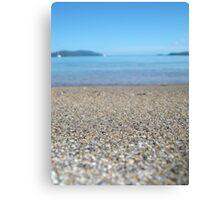 Sand + Sea Canvas Print