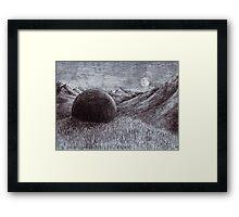 Stone of Erech Framed Print
