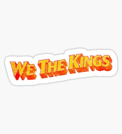 We The Kings Sticker