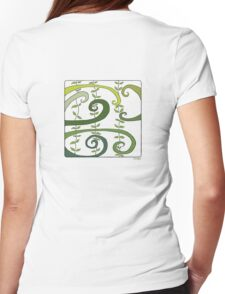 Jungle Womens Fitted T-Shirt