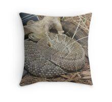 Rattler Throw Pillow