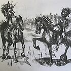 The horse riders by Jedika