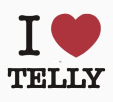 I Love TELLY Kids Clothes