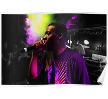GZA from Wu-Tang Clang Poster