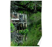 """River Mooring"" Poster"