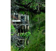 """River Mooring"" Photographic Print"