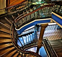Yes, QVB stairs that I'm appreciate...:Got EXPLORE Featured Work, 6 Featured works by Kornrawiee