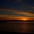 Sunrise over Cairns by MaluMoraza