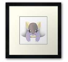 Baby Khan Framed Print