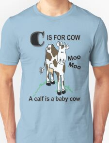 C is for Cow T-Shirt