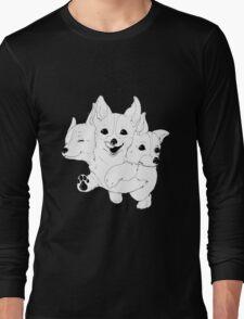 Corgerberus  Long Sleeve T-Shirt