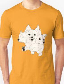 Corgerberus  Unisex T-Shirt