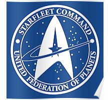 Star Trek - United Federation of Planets logo Poster