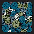 Spirals - Print by Sybille Sterk