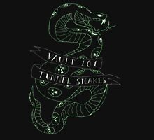 tunnel snakes [back of shirt variant] Hoodie