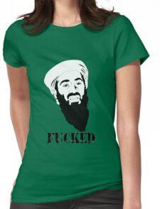 osama bin laden Womens Fitted T-Shirt