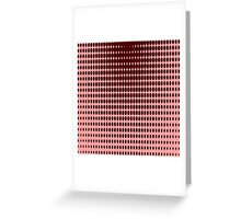 Red Dots Greeting Card