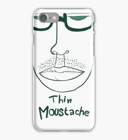 thin moustache iPhone Case/Skin