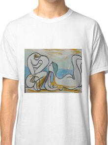 'On the Beach' inspired by Pablo Picasso Classic T-Shirt