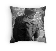 On The Step Throw Pillow