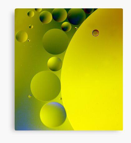 Green Cheese Canvas Print