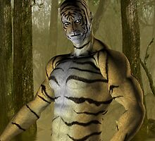 Tiger Warrior by LoneAngel