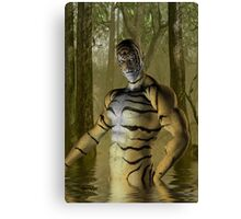 Tiger Warrior Canvas Print