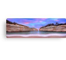 Loch Ard Gorge Panorama Canvas Print