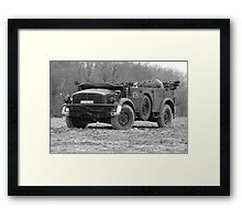 Horch 108 Type 40 Troop Carrier Framed Print