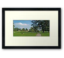 Jervaulx Park Framed Print