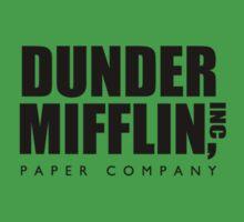 Dunder Mifflin Paper Company  Kids Tee