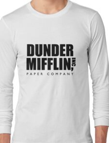 Dunder Mifflin Paper Company  Long Sleeve T-Shirt