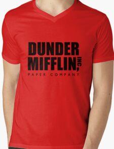 Dunder Mifflin Paper Company  Mens V-Neck T-Shirt