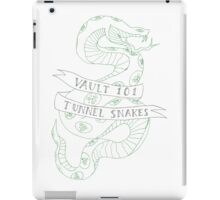 tunnel snakes v2 iPad Case/Skin