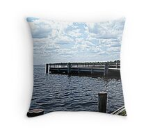 Pier  Throw Pillow
