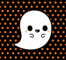 Cute spooky ghost by peppermintpopuk