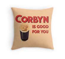 Corbyn Is Good For You Throw Pillow