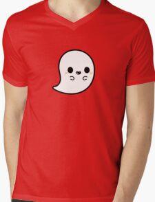 Cute spooky ghost Mens V-Neck T-Shirt