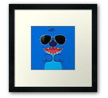 Cool Stitch Framed Print